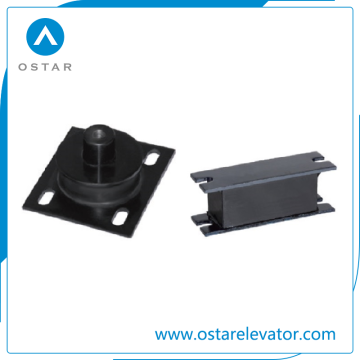 Máquina de tração de elevação Anti-Vibration Pad, peças de elevador (OS14-01 / 02)