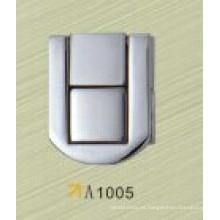 Estuche de aluminio con cerradura de cerradura maletín con cerradura portátil con cerradura de zinc