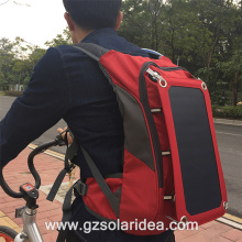 Outdoor Sport Phone Solar Charging Backpack