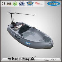 Single Electric Power Sit on Top Plastic Kayak