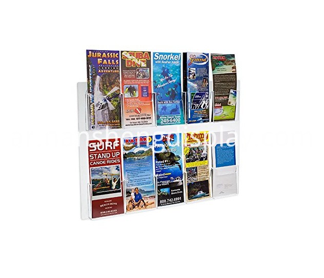 Wall Mount Brochure Holder