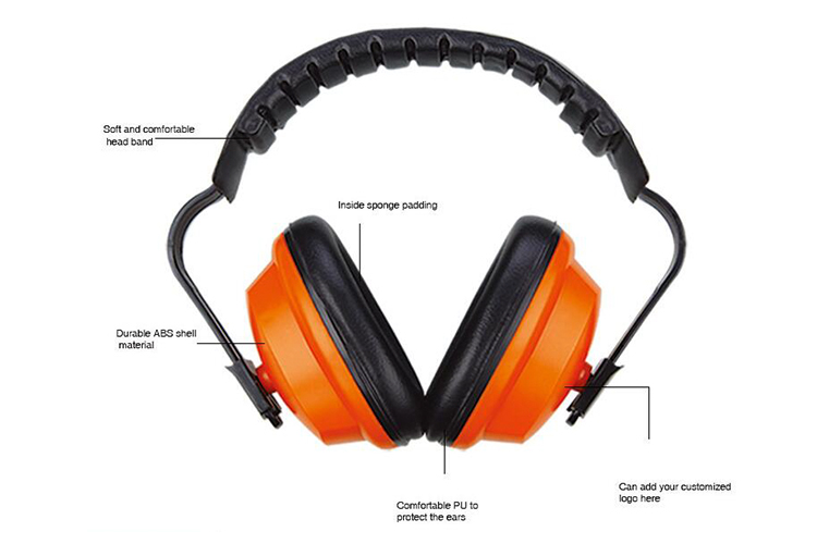 Hearing Protection Safety Earmuff