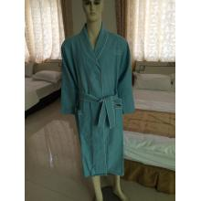 luxury Polyester Microfiber Shawl Collar Sleepwear