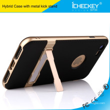 iCheckey TPU PC Combo Kickstand Holster Funda para teléfono móvil para iPhone 7