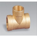 Brass pipe fitting brass Female Cross