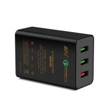 QC2.0 + 2.4A 42W 3 USB Ladegerät - Qualcomm Schnellladung