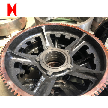 Small Cast Iron Gear Ring  For Reducers