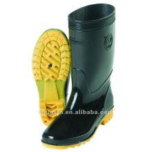 botas de lluvia barato del PVC para los hombres
