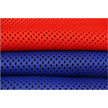 Tejido de malla 100% poliéster refrescante para bolsas deportivas