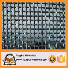 Malha de arame de ferro galvanizado tecido frisado