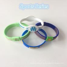 Promotion Geschenke Custom Gummi Wristband Silikon Armband