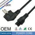 SIPU haute qualité fabriqué en Chine standard UE fiche d'alimentation câble d'alimentation européenne cordon d'extension pour ordinateur portable