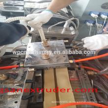 Thailand PVC WPC Fenster- und Türprofil-Extrusionsmaschine / PVC-Profil für Fensterrahmen / Kunststoffprofil-Extrusion