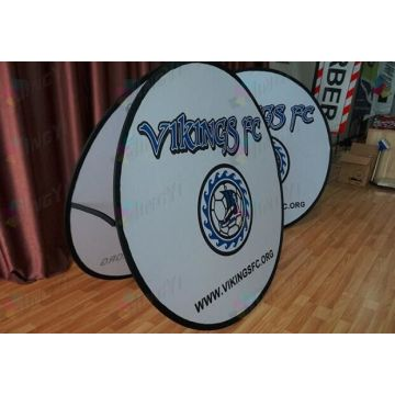 Dye Sublimation Printing Visa popup A-Frame Banners