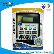 80 Fonctions Mini ordinateurs portables pour enfants en anglais et en espagnol