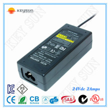 220v ac to 24v 2a power adapter transformer ,48w Class2 Power supply