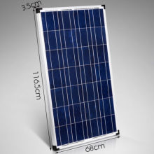 80W Poly Crystalline Silicon Module, Good Quality and High Efficiency, Manufacturer in China