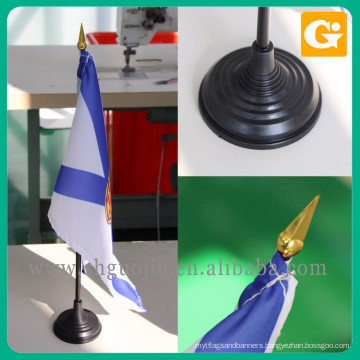 Good price polyester south africa table flag