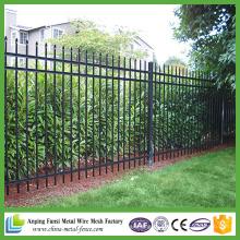 Anping Fábrica Privacidade Jardim sistema de segurança Spear Top Outdoor Steel Fence