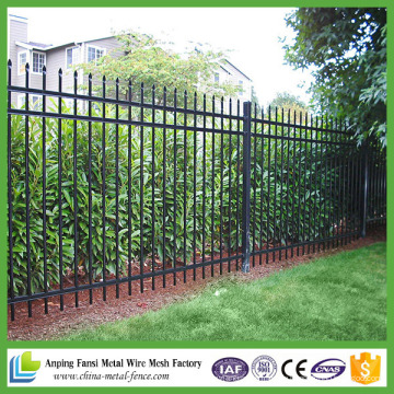 Anping Factory Datenschutz Garten Sicherheitssystem Speer Top Outdoor Stahl Zaun