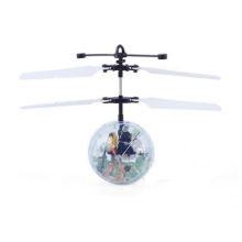 Flying RC Ball Flashing Light Aircraft Helicopter