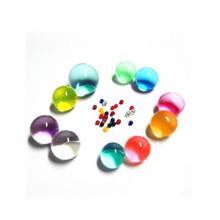 Round Rainbow water beads