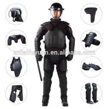 PROTECCIÓN COMPLETA Anti-Riot Gear uniforme anti armadura antidisturbios