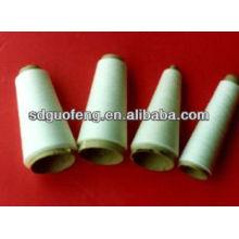 40Х/2 сырцовая белизна 100% закрученная пряжа полиэфира для шить резьбы