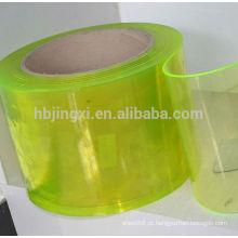 Cortina de tiras flexíveis macias transparentes de pvc