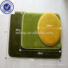 nova espuma de memória de design 3 peça de tapete de banho conjuntos