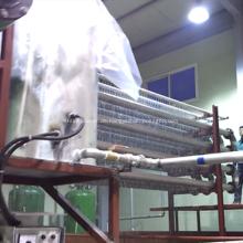 Recycling PMMA Schrott Acryl Tiefziehmaschine