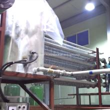 Recyclage de la machine de thermoformage acrylique pour rebuts PMMA