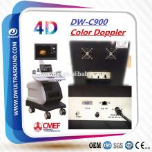 Machine DW-C900 de scanner d'ultrason de la couleur Doppler 4D