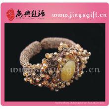 Mais recente Elegante Victoria Gemstone Cristal Crochet Jóias Guangzhou