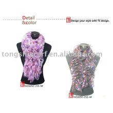 2013 newest chiffon ruffle scarf