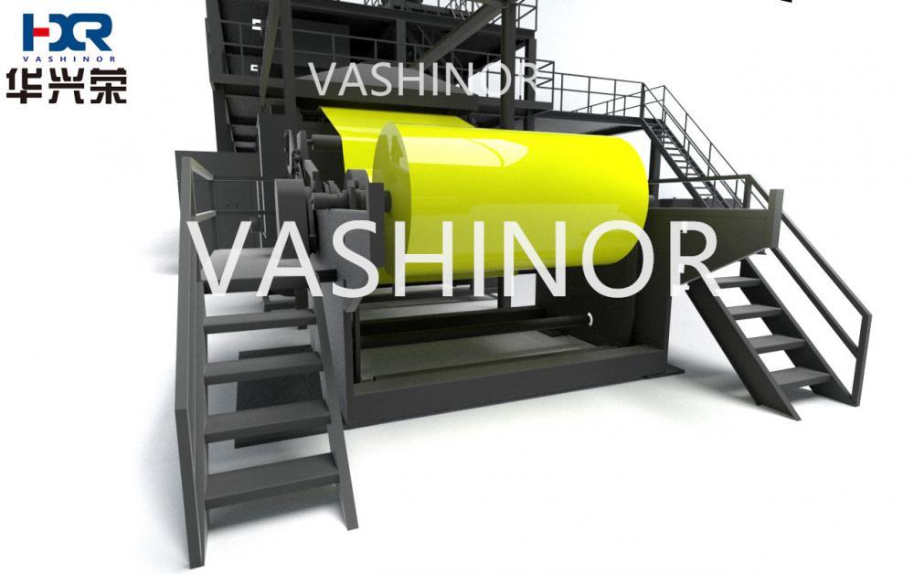 Sss Spunbond Non Woven Machine 1