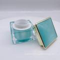 New arrive 30g 50g square acrylic luxury cosmetic bottle set cream bottle skin care eye face cream