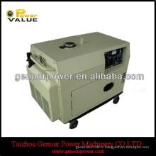 Générateur diesel silencieux de puissance forte 7.5kw