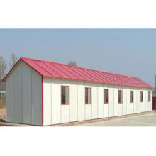 Single Storey Prefabricated Dormitory, Suitable for Students and Workers as the Interim HouseNew