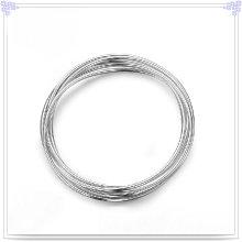 Moda Jóias Moda Bangle 925 Jóias de Prata Sterling (SL0006)