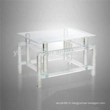 2015hot vente classique acrylique salon meubles