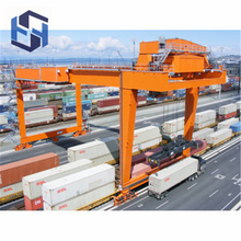 China for Double Girder Gantry Crane RMG  Mounted Double Girder Container Gantry Crane export to South Korea Supplier