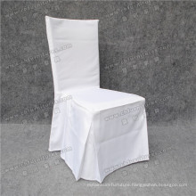 Wholesale White Wedding Ruffle Chair Cover (YC-858-03)