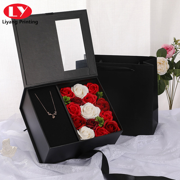 Valentine S Day Flower Box4