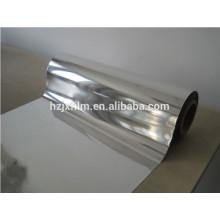 Filme de poliéster metalizado de alumínio / Mylar reflexivo