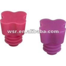 moldeado personalizado tapones de botellas de goma