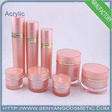 Loção acrílica Garrafas, recipiente de cosméticos e frascos de creme