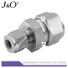 Twin Ferrule Reducing Stainless Steel Union Connector Pipe Fitting