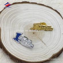 Estampagem de metal barato com emblema de pino de negócios de boa qualidade