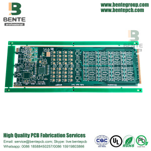 4Layers ad alta precisione multilayer PCB Gold Finger